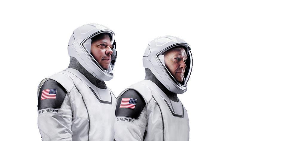 NASA Astronauts Bob Behnken and Doug Hurley.