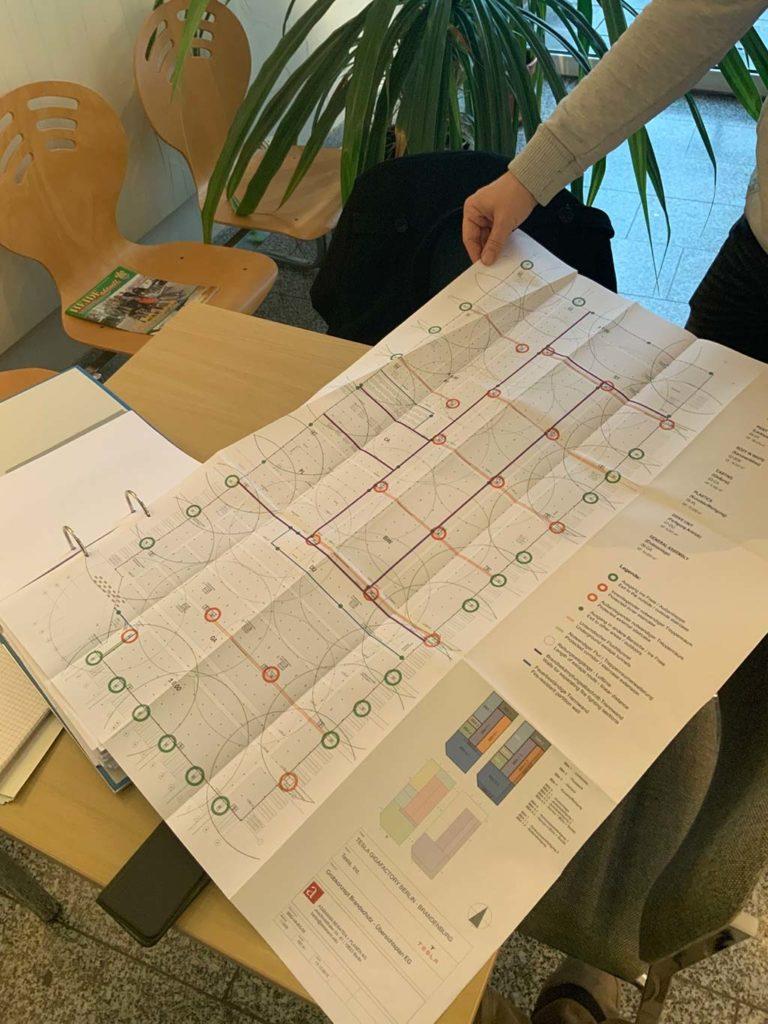 Tesla Gigafactory Berline overview map / master plan.