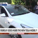 Tesla Model Y on Fox News