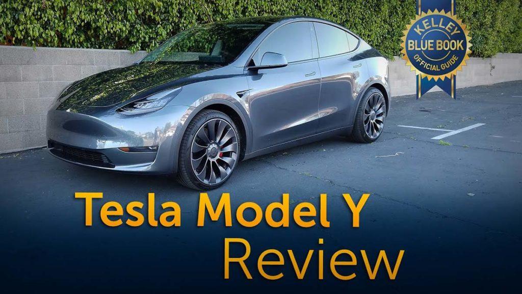 Tesla Model Y review by Kelley Blue Book