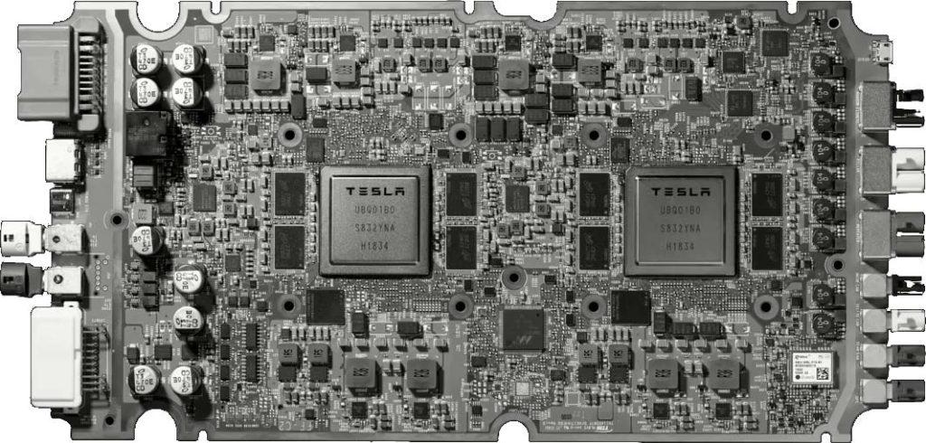 Tesla FSD Computer (HW 3.0).