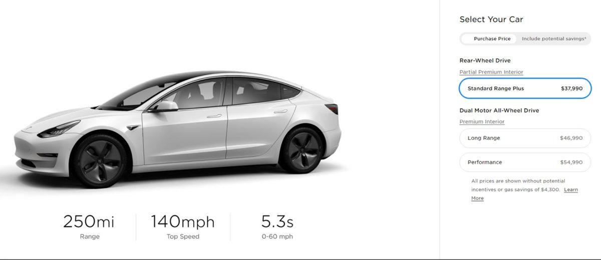 Tesla drops the prices of Model 3, S, and X.