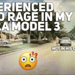 Tesla Model 3 owner faces road rage by Audi driver.