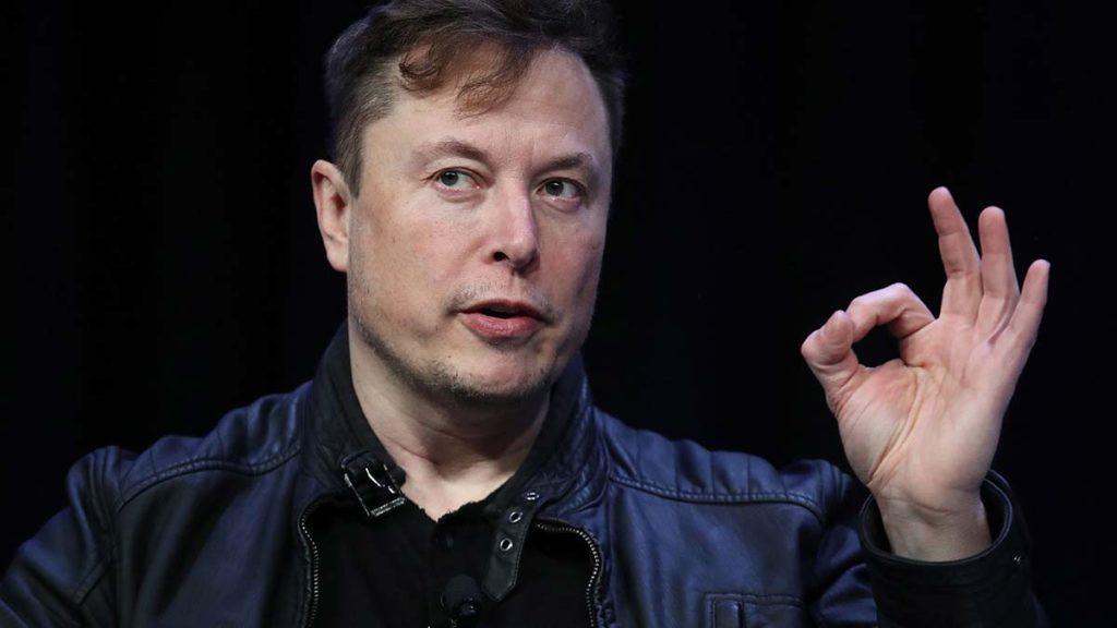 Elon Musk's wow expressin.