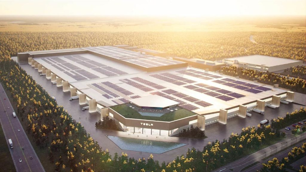 Tesla Gigafactory Berlin Render (Model Y Factory).