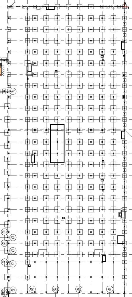 Tesla Gigafactory Berlin: Paint Shop construction diagram (250 pillars).