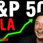 Tesla (TSLA) headed to become a S&P 500 company.