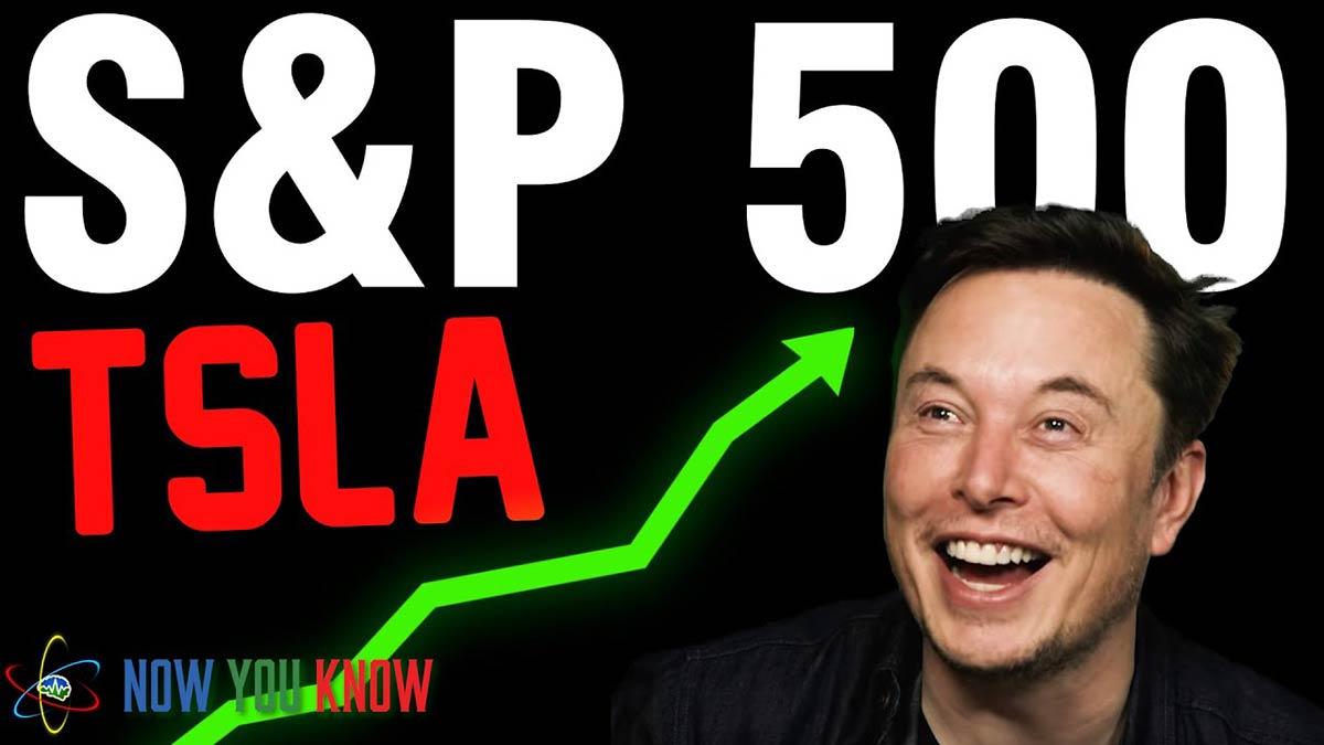 Tesla (TSLA) headed to become a S&P 500 company.