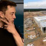 Elon Musk is visiting the Tesla Gigafactory Berlin this week.