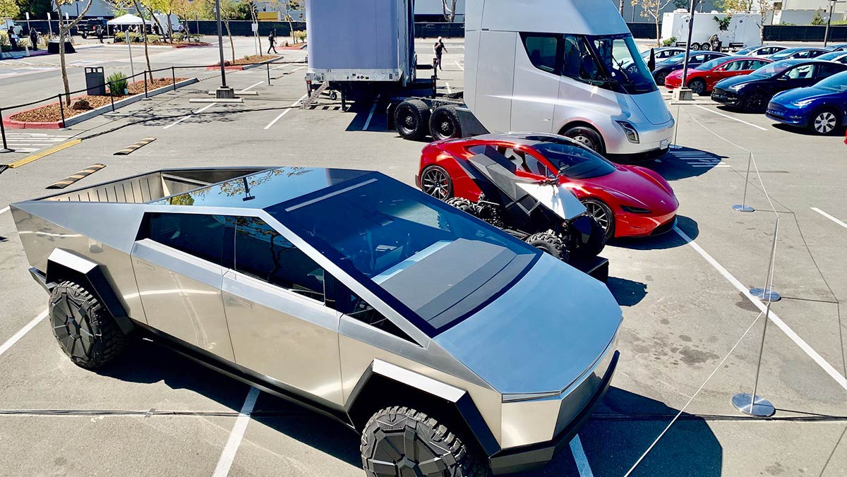Tesla Cybertruck, ATV, Roadster, Semi, and the big party (Battery Day Part 2)