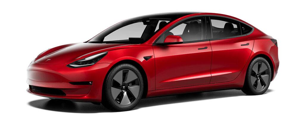 "New 18"" Aero Wheels for the 2021 Tesla Model 3 Standard Range Plus and Long Range AWD."
