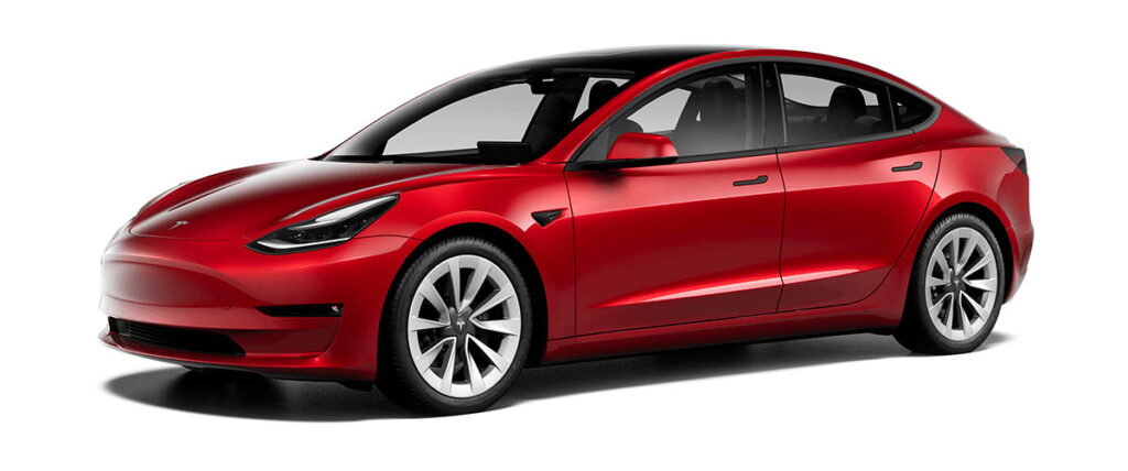 "New and optional 19"" Sport Wheels for the 2021 Tesla Model 3 Standard Range Plus and Long Range AWD."