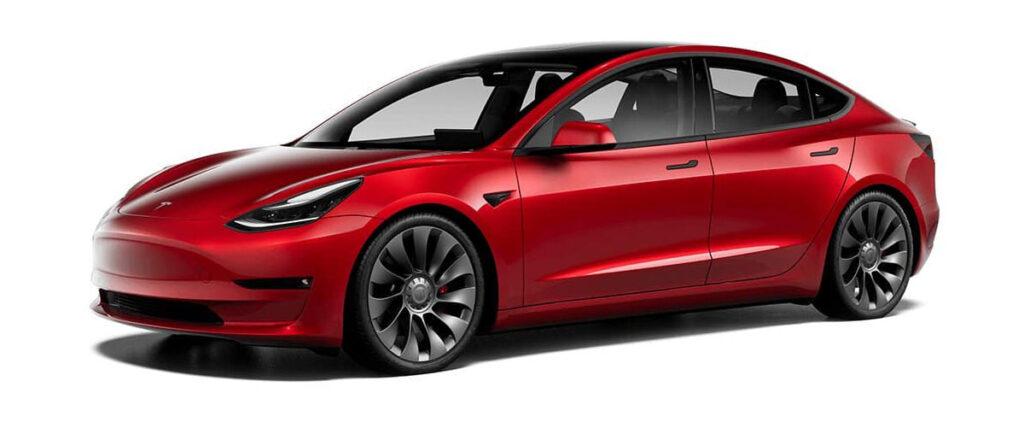 20'' Überturbine Wheels for the 2021 Tesla Model 3 Performance.