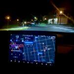 Tesla Model 3 running Full Self-Driving (FSD) Beta, video in the article.