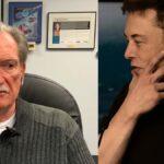 Sandy Munro and Elon Musk both thinking.