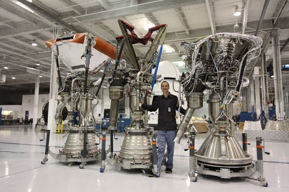 Tom Mueller at SpaceX HQ in Hawthorne, California.