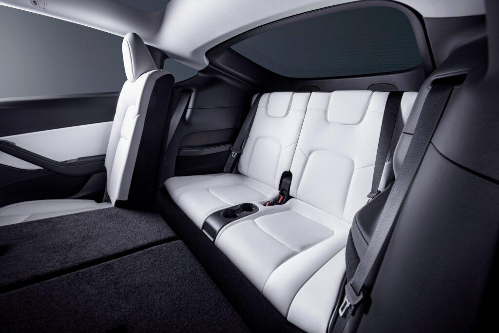 Tesla Model Y 3rd-row 7 seat configuration.