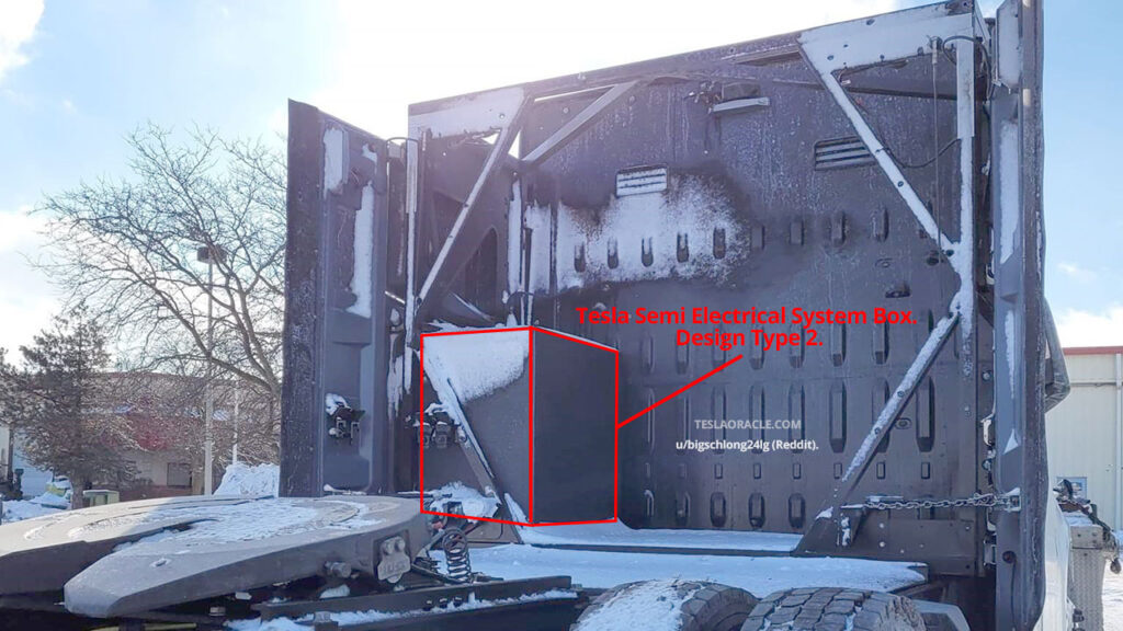 Tesla Semi Electrical System Box. Design Type 2.