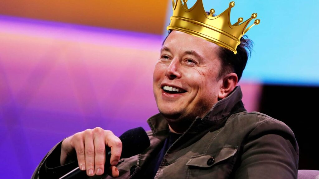 Elon Musk's official title is now 'Tecnoking' of Tesla.