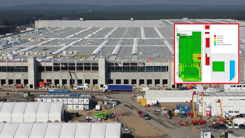 Gigafactory Berlin roof as of 3rd March 2021 (drone video in the article).