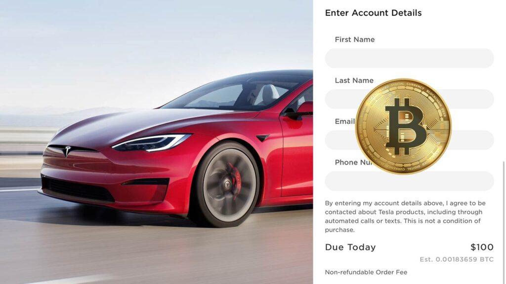Tesla starts accepting Bitcoin as a payment method for purchasing its EVs.