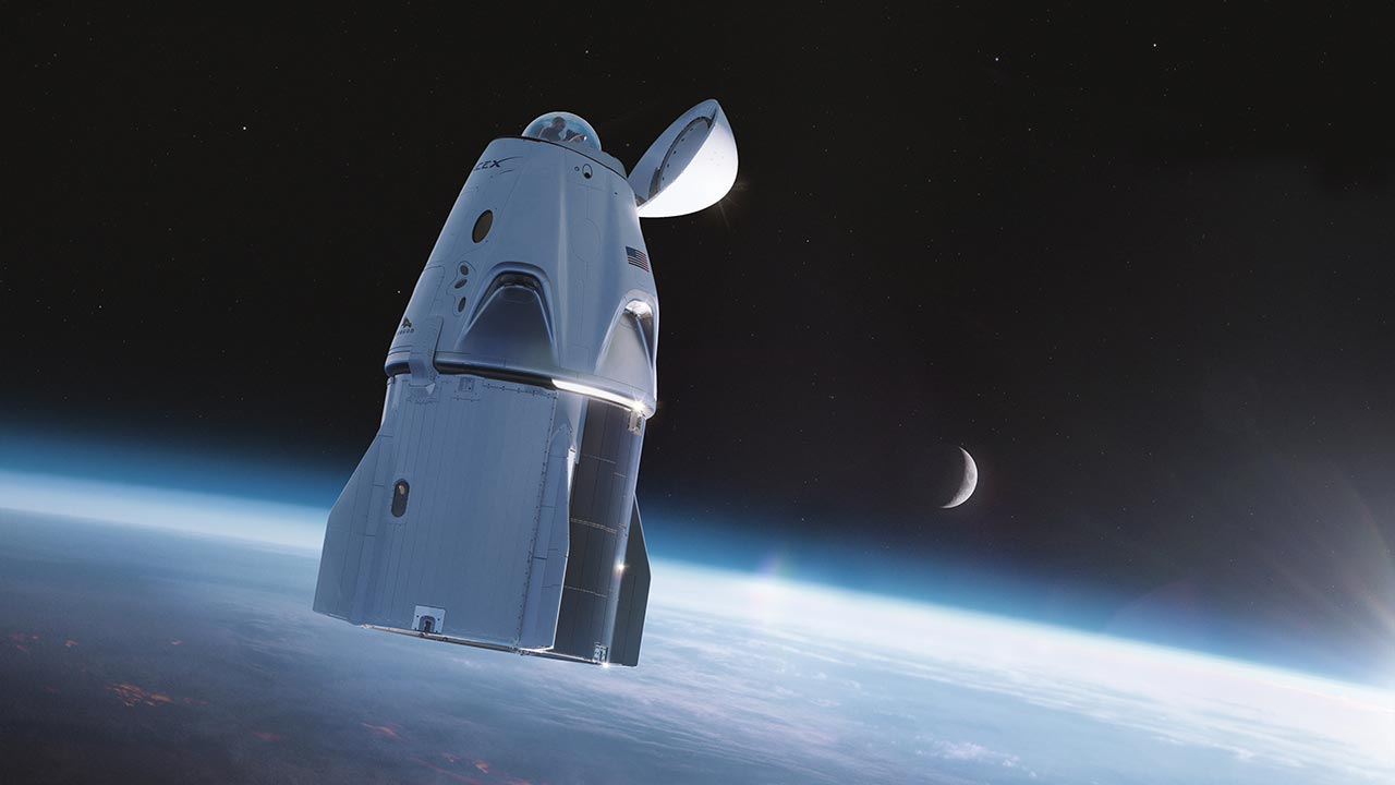 SpaceX is adding a glass dome observatory to its Crew Dragon spacecraft