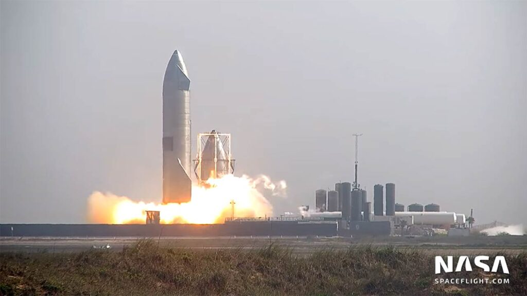 Starship SN15 static fire tests (videos in article).
