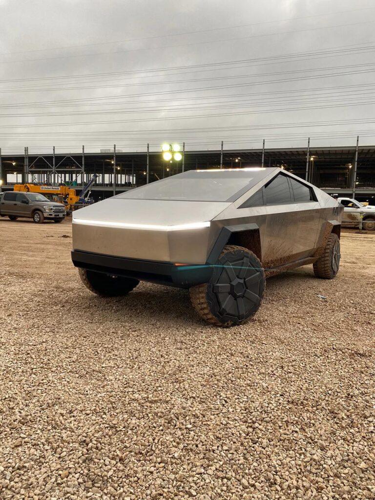 Tesla Cybertruck at Gigafactory Austin, Texas.