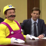 Elon Musk as Wario on Saturday Night Live.