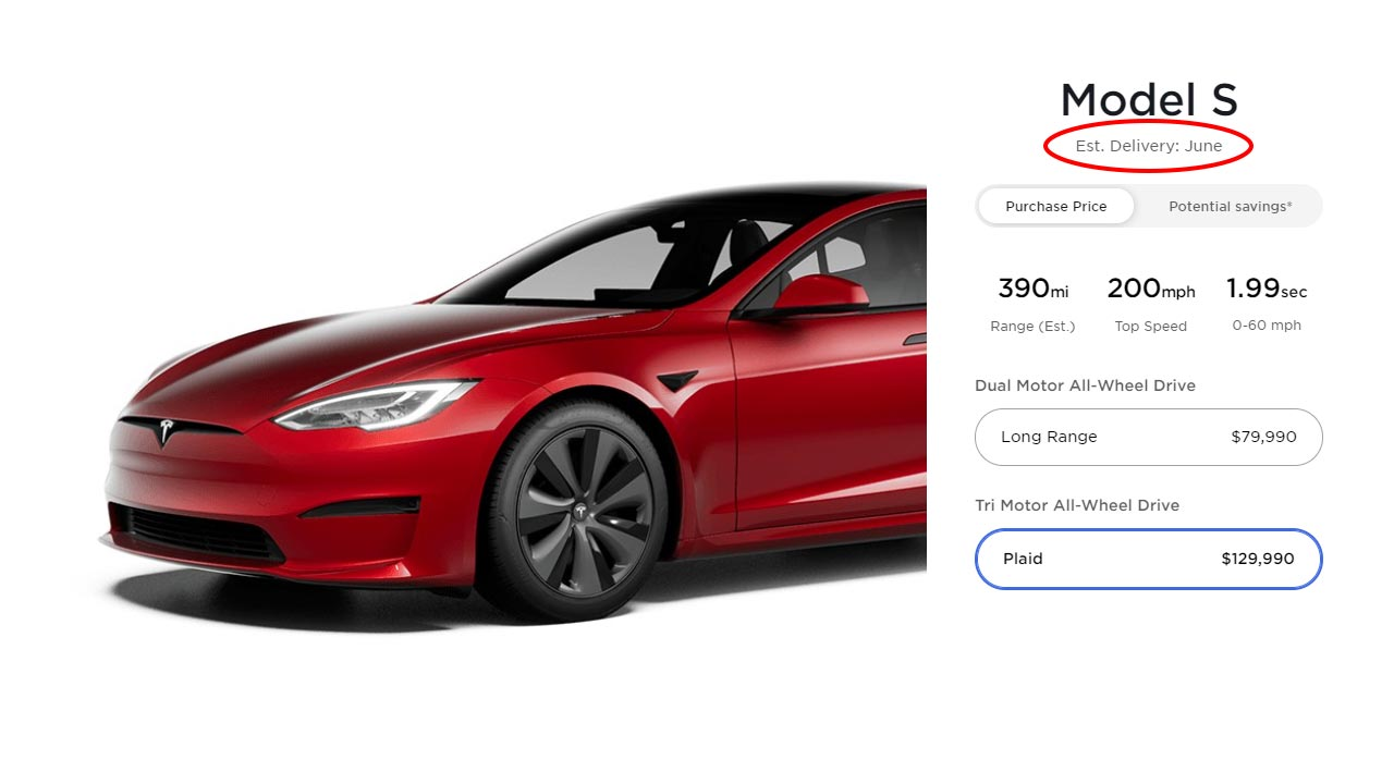 Just a day before Tesla plans to hand over the first Model S Plaid cars to the owners, the automaker has increased the price of the vehicle by $10,000