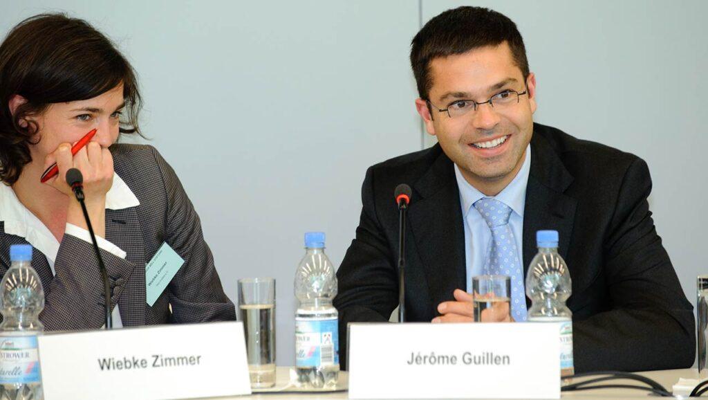 President of Tesla Heavy Duty Trucking Jerome Guillen.