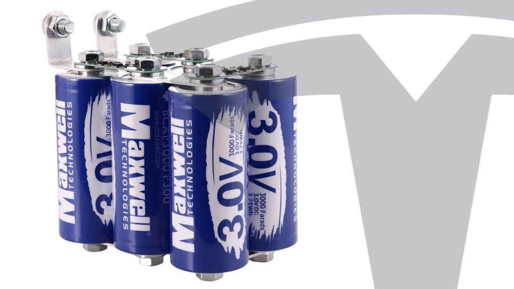 Maxwell Technologies 3.0V ultracapacitors.