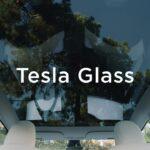 Tesla Model Y UV radiation protected full glass roof.