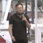 Tesla CEO Elon Musk addressing the 2021 Annunal Shareholders Meeting of the company.