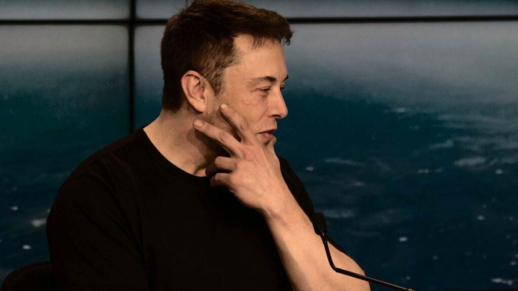 Elon Musk thinking.